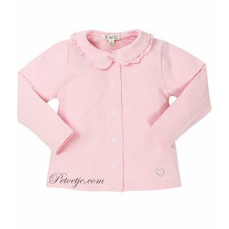 EMC Girls Pink Cotton Blouse