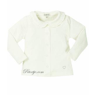 EMC Girls Ivory Cotton Blouse