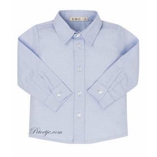 EMC Boys Blue Cotton Shirt