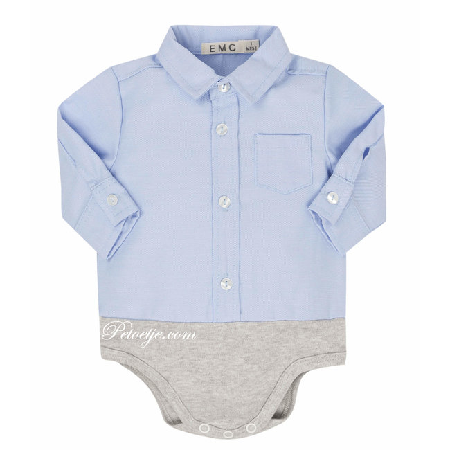 EMC Baby Licht Blauw Body Hemd