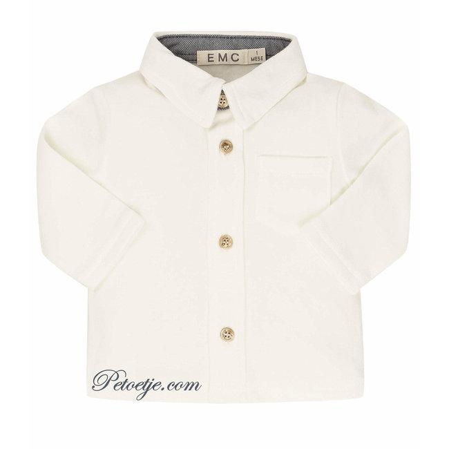 EMC Baby Wit Katoenen Hemd