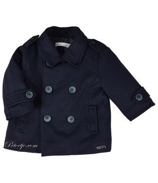 BARCELLINO BabyJongens Blauwe Jas