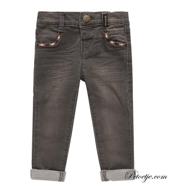 RETOUR  Baby Girls Grey Denim Jeans