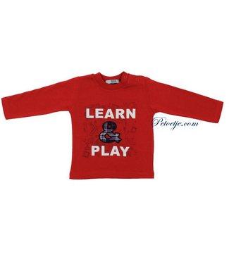 DR. KID Jongens Rode T-shirt