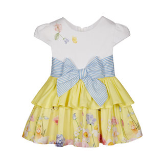 LAPIN HOUSE White & Yellow Floral Dress - Ducks