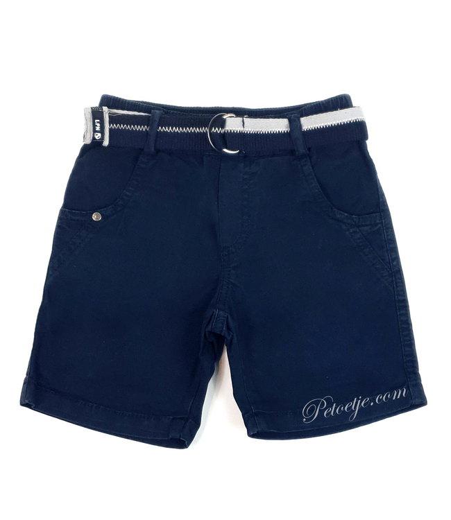 LAPIN HOUSE Boys Navy Blue Bermuda Short