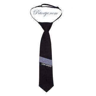 LAPIN HOUSE Navy Blue Cotton Tie