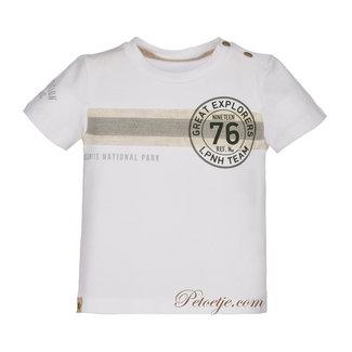 LAPIN HOUSE Jongens Witte T-shirt 76