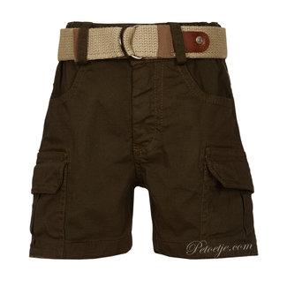 LAPIN HOUSE Boys Khaki Green Cargo Shorts
