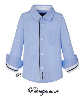LAPIN HOUSE Jongens Blauw Hemd