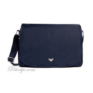 EMPORIO ARMANI Baby Navy Blue Changing Bag (45cm)