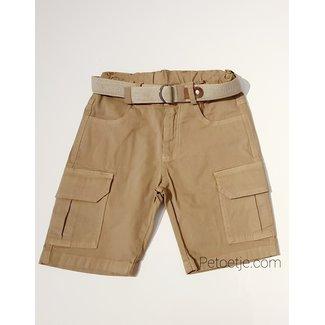 LAPIN HOUSE Boys Beige Cargo Shorts