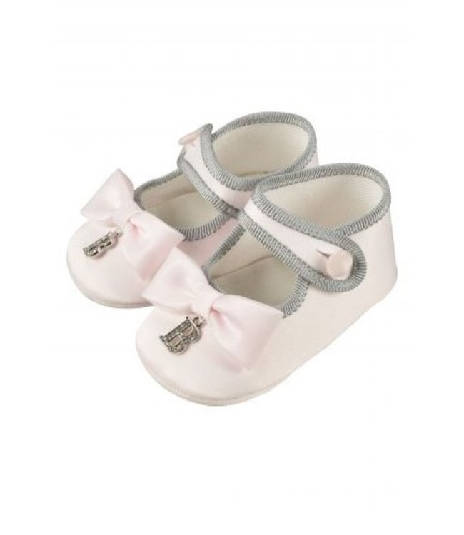 BARCELLINO Baby Pink Pre Walker Shoes