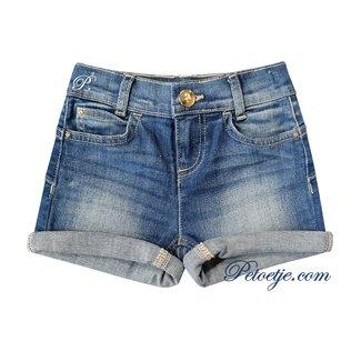 LIU JO Girls Blue Denim Shorts