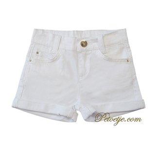 LIU JO Girls White Denim Shorts