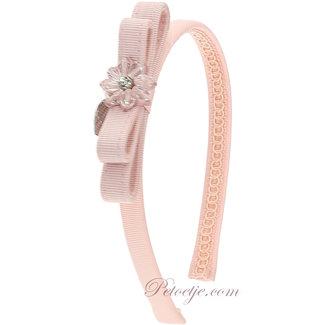 MONNALISA Meisjes Roze Haarband - Strik