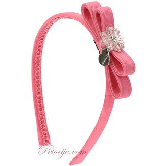 MONNALISA Girls Fuchsia Hairband - Bow