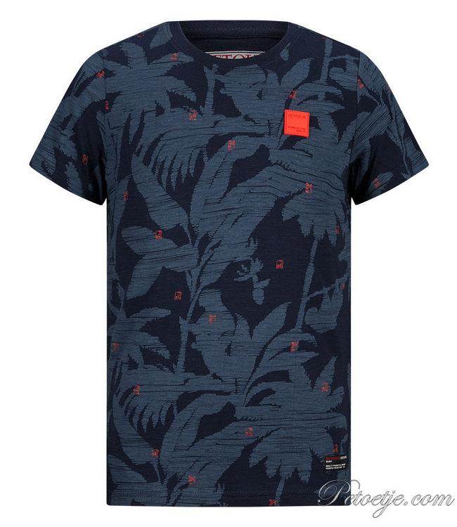 RETOUR Jeans Navy Blue T-Shirt - Robert