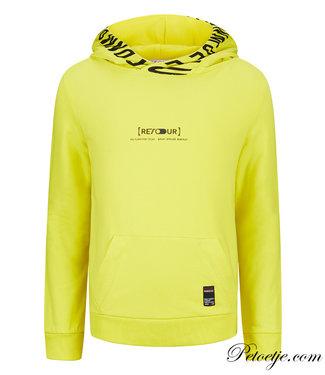 RETOUR Jeans Boys Yellow Hoodie - Pepijn