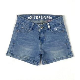 RETOUR Jeans Girls Blue Denim Short