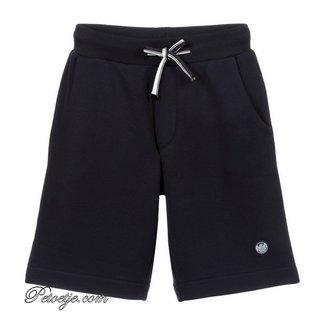 EMPORIO ARMANI Jongens Blauwe Jersey Short