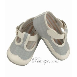 BARCELLINO Baby Grey Pre Walker Shoes