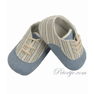 BARCELLINO Baby Blue Pre Walker Shoes