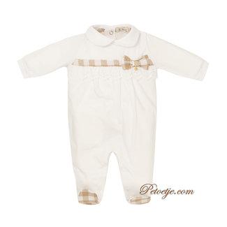 EMC Meisjes Wit & Beige Baby Pakje