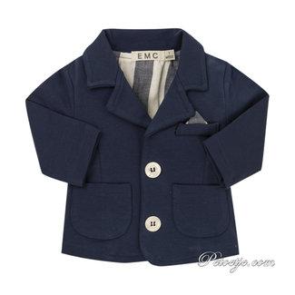 EMC Baby Boys Blue Cotton Jacket
