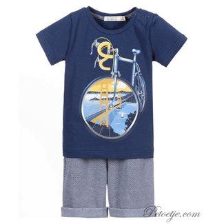 EMC Boys Blue Shorts Set