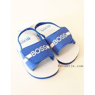 HUGO BOSS Kidswear  Boys Blue Sandals