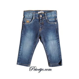 DR. KID Jongens Blauwe Denim Jeans Broek