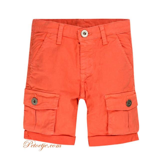 EMC Boys Orange Bermuda Shorts