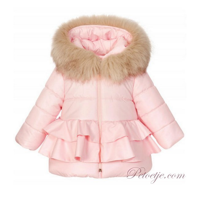BALLOON CHIC Girls Pink Padded Coat