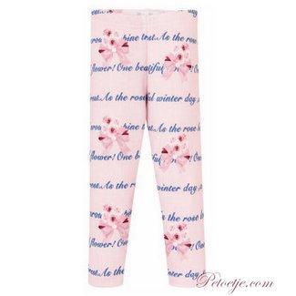 BALLOON CHIC Meisjes Roze Legging - Rozen