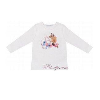 BALLOON CHIC Witte T-Shirt Vos