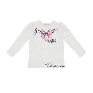 BALLOON CHIC Witte T-Shirt - Star