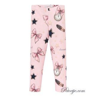 BALLOON CHIC Meisjes Roze Legging - Star