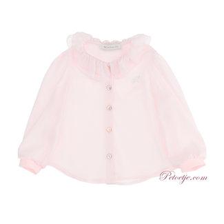 MONNALISA Baby Meisjes Roze Viscose Blouse