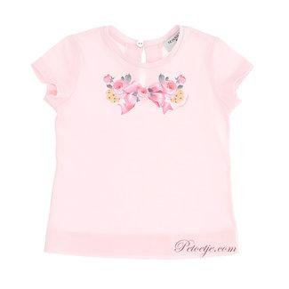 MONNALISA Baby Meisjes Roze T-Shirt