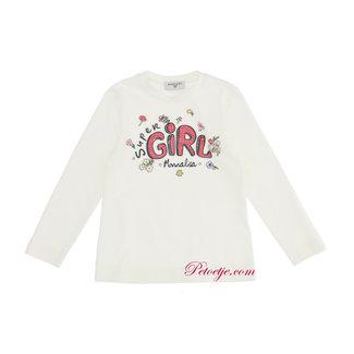 MONNALISA Meisjes Ecru T-shirt