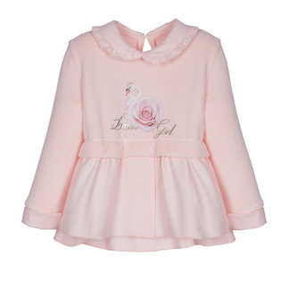 LAPIN HOUSE Roze Velours Sweater Top