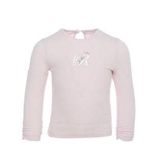 LAPIN HOUSE Meisjes Ecru T-Shirt - Royal