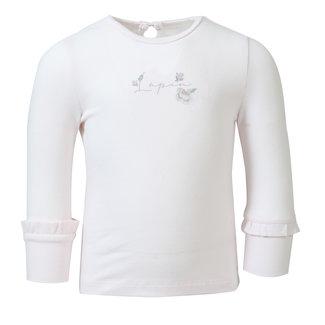 LAPIN HOUSE Meisjes Ecru T-Shirt - Rozen