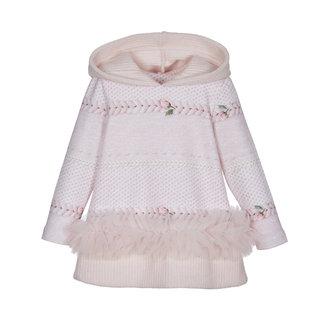 LAPIN HOUSE Meisjes Roze Sweaterjurk