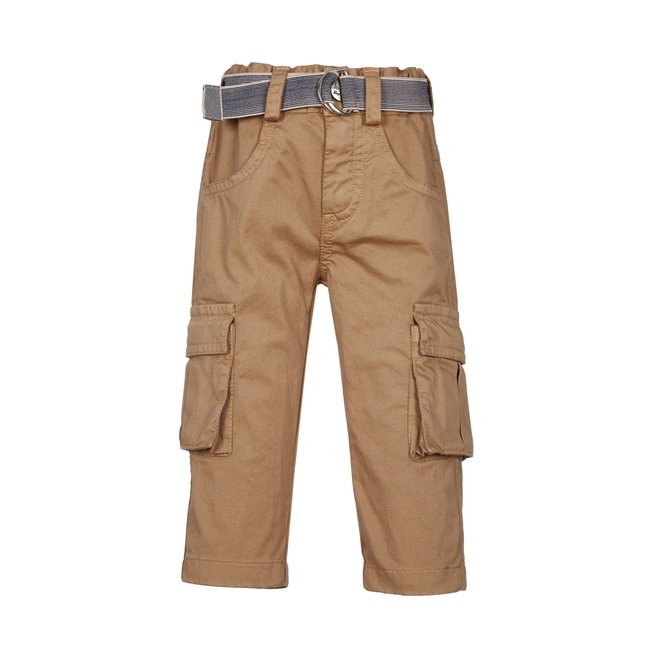 LAPIN HOUSE Boys Beige Cargo Trousers