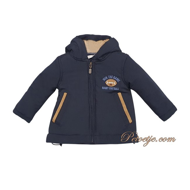 DR. KID Boys Navy Blue Padded Coat