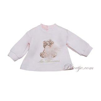 MISS BLUMARINE  Baby Girls Pink Sweater Top