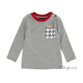MONNALISA Baby Jongens Grijze Disney T-shirt