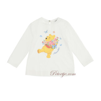 MONNALISA Baby Meisjes Ecru Disney T-Shirt